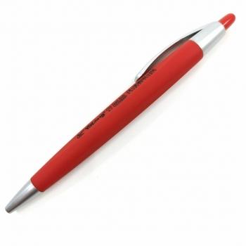 Στυλό Με Γκρι Κλιπ Μονόχρωμο Διάφορα Χρώματα