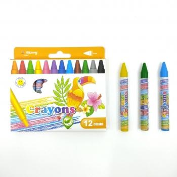 Κηρομπογιές Crayons Μεγάλες 12 Τεμάχια