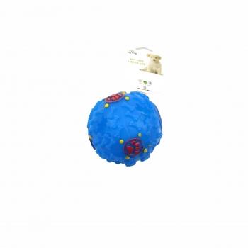 Πλαστική Μπάλα Σκύλου με Ήχο 7 Εκ. Διάφορα Σχέδια