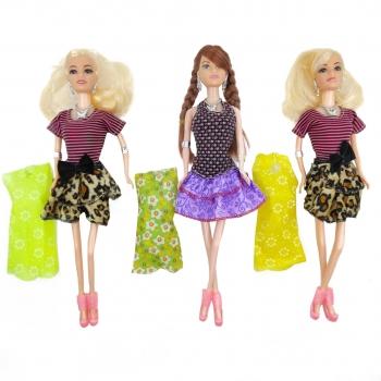 Κούκλα Μανεκέν Fashion Girl Διάφορα Σχέδια Με Αξεσουάρ