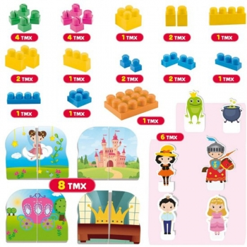 Real Fun Toys Lisciani Baby Carotina Τουβλάκια Το Κάστρο (68579)