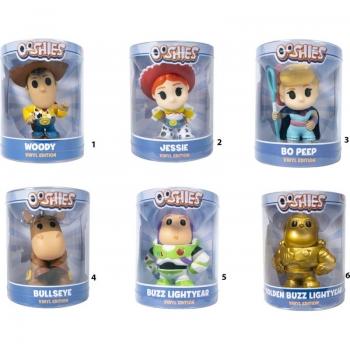 Ooshies - Toy Story 4 Vinyl Edition Συλλεκτικές Φιγούρες 10 Εκ. - 6 Σχέδια