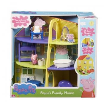 Peppa Pig Το Σπίτι Της Οικογένειας Της Πέππα