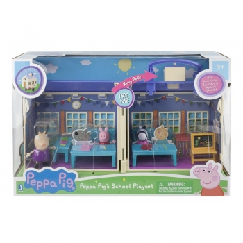 Peppa Pig Σετ Παιχνιδιού Σχολείο Και 3 Φιγούρες