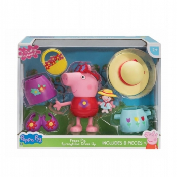 Peppa Pig Springmattel Dress Up Φιγούρα 10Εκ.