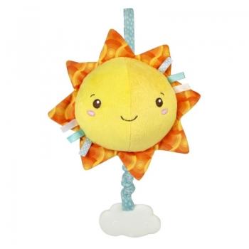 Βρεφικό Μουσικό Χνουδωτό Κρεμαστό Ήλιος