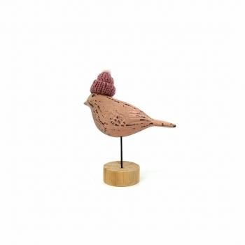 Ξυλ Διακ Πτηνό 12χ5χ15cm