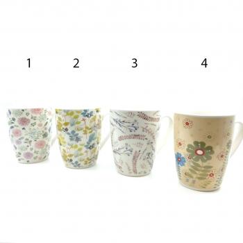 Κούπα Κεραμική Λουλούδια Διάφορα Σχέδια