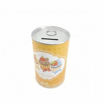 Κουμπαράς Μεταλλικός Cupcake Κονσέρβα 8x12