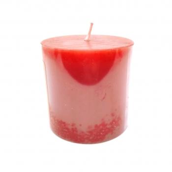Κερί Κολώνα Aρωματικό Φράουλα 7x7