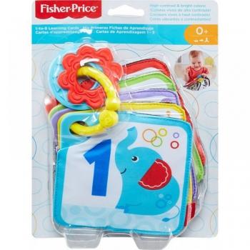 Fisher Price Εκπαιδευτικές Κάρτες 1 Έως 5 (GFX90/FXB92)