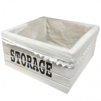 Κουτί Αποθήκευσης Τετράγωνο Storage Μεσαίο