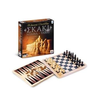 Σκάκι - Ντάμα - Τάβλι