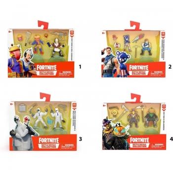 Fortnite Battle Royale Collection Duo Pack 2 Mini Φιγούρες - 4 Σχέδια