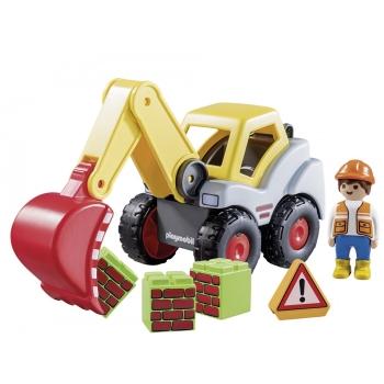 Playmobil Φορτωτής Εκσκαφέας