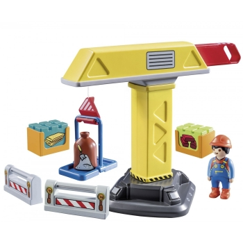 Playmobil Γερανός Κατασκευών