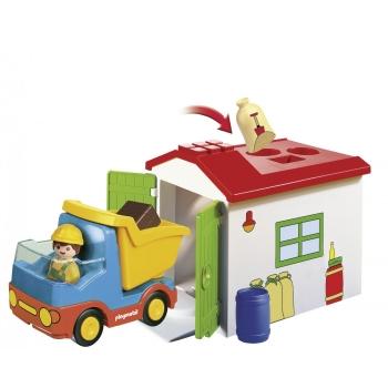 Playmobil Φορτηγό Με Γκαράζ