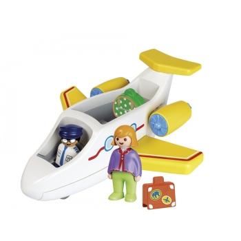 Playmobil Αεροπλάνο Με Επιβάτη