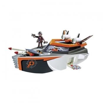 Playmobil Κατασκοπευτικό Σκάφος Της Spy Team