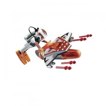 Playmobil Υποθαλάσσιο Τζετ Της Spy Team