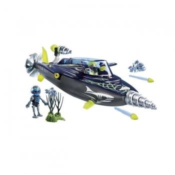 Playmobil Σκάφος Υποβρύχιων Καταστροφών Της Shark Team