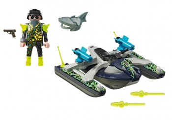 Playmobil Aqua Scooter Της Shark Team