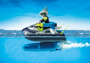 Playmobil Aqua Scooter Της Shark Team