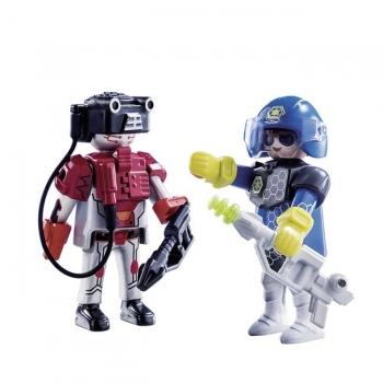 Playmobil Duo Pack Αστυνόμος Διαστήματος Και Κακοποιός