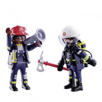 Playmobil Duo Pack Πυροσβέστες ΕΜΑΚ