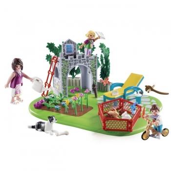 Playmobil SuperSet Οικογενειακός Κήπος