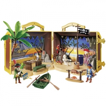 Playmobil Πειρατικό Νησί-Βαλιτσάκι