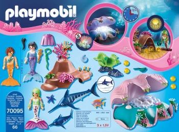 Playmobil Φωτιζόμενο Κοχύλι Μαργαριταριών