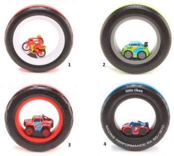 little tikes Αυτοκινητάκια Αγωνιστικά Ελαστικά