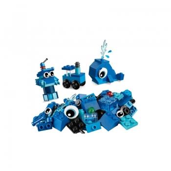 11006 Lego Classic Creative Blue Bricks - Δημιουργικά Μπλε Τουβλάκια
