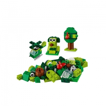 11007 Lego Classic Creative Green Bricks - Δημιουργικά Πράσινα Τουβλάκια