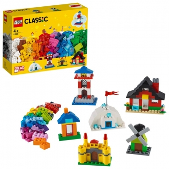 11008 Lego Classic Creative Bricks and Houses - Τουβλάκια και Σπίτια