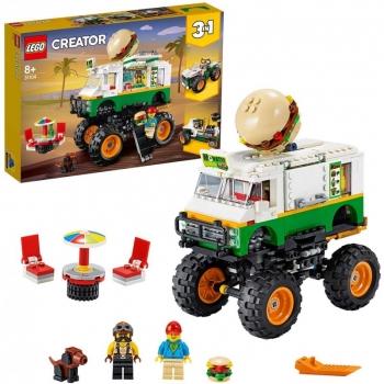31104 Lego Creator Monster Burger Truck - Monster Truck Με Χάμπουργκερ
