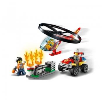 60248 Lego City Fire Helicopter Response - Ανταπόκριση Πυροσβεστικού Ελικοπτέρου