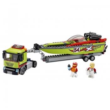 60254 Lego City Race Boat Transporter - Μεταφορικό Αγωνιστικού Σκάφους