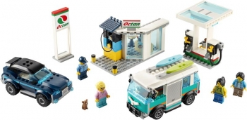 60257 Lego City Service Station - Βενζινάδικο