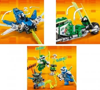 71709 Lego Ninjago Jay & Lloyd\'s Velocity Racers