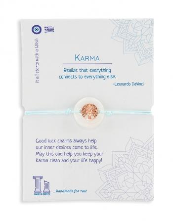 Βραχιόλι Ευχές Karma 4 Σχέδια