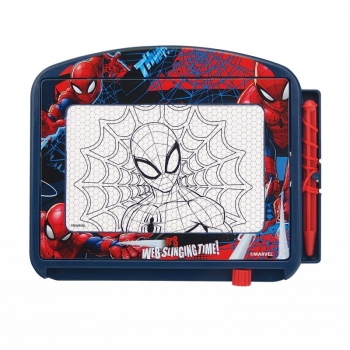 Art Greco Magic Scribbler Πίνακας Γράψε Σβήσε Spiderman Travel