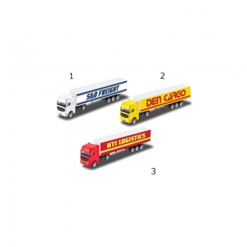 Teamsterz Die-Cast Container Φορτηγά - 3 Σχέδια