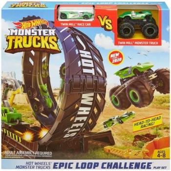 Hot Wheels Monster Trucks Epic Loop Challenge Σούπερ Λούπ Σετ Παιχνιδιού (GKY00)