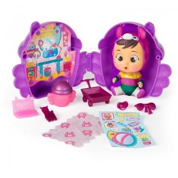 Κούκλα Mini Κλαψουλίνια Μαγικά Δάκρυα Φτερωτό Σπιτάκι Glitter