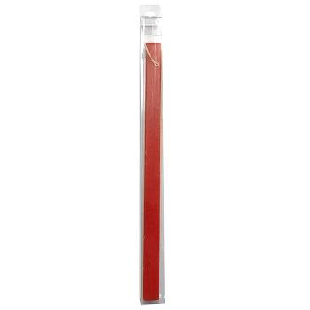 Λαμπάδα Τετράγωνη Χρωματιστή Ματ 35cm