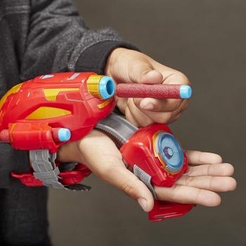 Hasbro Nerf Power Moves Marvel Avengers Iron Man Repulsor Blast Gauntlet