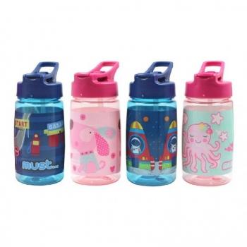 Παιδικά Παγούρια Tritan Πλαστικά Must 450 Ml 4 Σχέδια