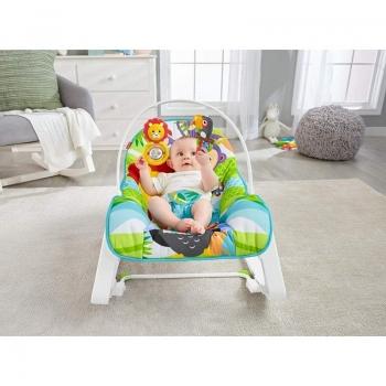 Fisher Price Ρηλάξ/Κούνια Infant To Toddler Λιονταράκι
